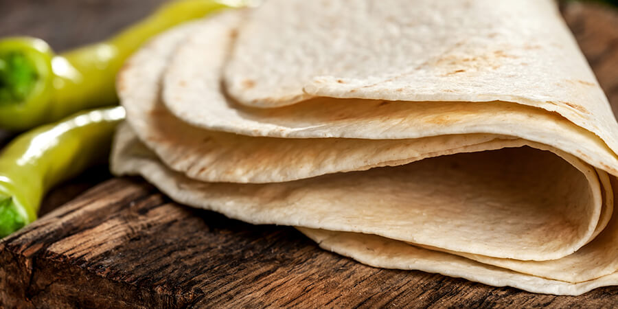 Made-on-site Tortillas